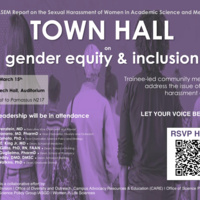 Town Hall on Gender Equity and Inclusion