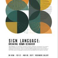 Sign Language: Breaking Down Behavior