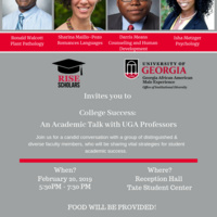 College Success: An Academic Talk with UGA Professors