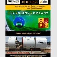 METRANS Field Trip: The Boring Tour