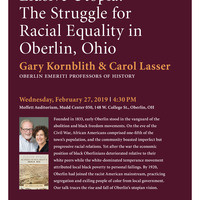 "Book Talk -  ""Elusive Utopia: The Struggle for Racial Equality in Oberlin, Ohio"""