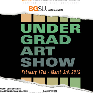 68th Undergraduate Art Show Opening