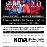 CyCon 2.0 - NOVA Cybersecurity Conference