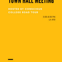 Conscious College Road Tour: Town Hall