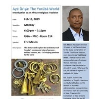 Lecture: Introduction to an African Religious Tradition