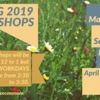 Garden Commons Spring Workdays and Workshops