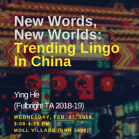 New Words, New Worlds: Trending Lingo In China