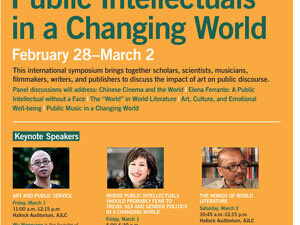 Public Intellectuals in a Changing World: Panel Discussion