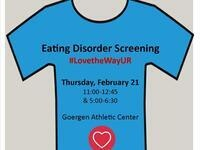 #LovetheWayUR- Eating Disorder Screening