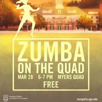 Zumba on the Quad
