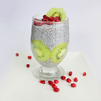 Chia Green Pudding