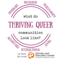 """What Does a Thriving Queer Community Look Like?"""" - Presented by Peers for Pride"""