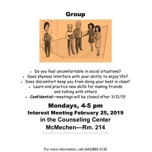 Building Social Confidence Group