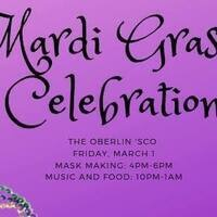 Mardi Gras Party at the 'Sco: Mask Making