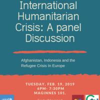 International Humanitarian Crisis: Panel Discussion | Global Union