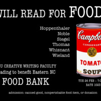 A reading to benefit Eastern NC Food Bank