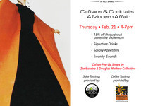 CAFTANS & COCKTAILS @ Antique Galleries of Palm Springs