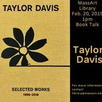 Library Talk - Taylor Davis : Selected Works 1996 - 2018