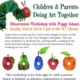 Children & Parents Doing Art Together: Illustration Workshop