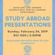 International Service Learning/Study Abroad Presentations