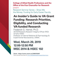 An Insider's Guide to VA Grant Funding: Research Priorities, Eligibility, and Conducting VA-funded Research