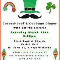 Corned-Beef & Cabbage Dinner