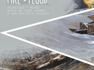 Fire and Flood - Wine and Art Reception