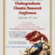 Eighth Annual Undergraduate Classics Research Conference