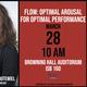 Flow: Optimal Arousal for Optimal Performance