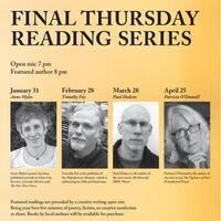 Final Thursday Reading Series featuring Patricia O'Donnell
