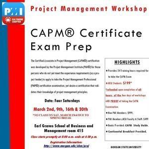CAPM Certification Examination Preparation Workshop