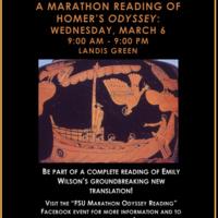 A Marathon Reading of Homer's Odyssey