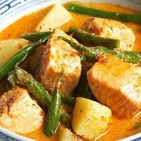 C-Cubed Luncheon - Red Thai Salmon Curry