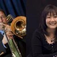 Bruce Tychinski, trombone, and Julie Nishimura, piano