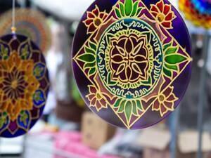 Courthouse Craft Night: Mandala Sun Catcher