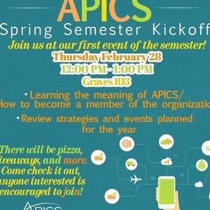 Spring Semester Kickoff