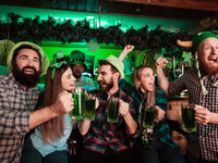 St. Patrick's Day Green Party