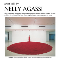 The Body as a Site:  An Artist Talk by Nelly Agassi
