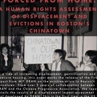 Forced from Home: Displacement Assessment in Boston Chinatown