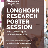 Longhorn Research Poster Session