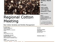 Regional Cotton Meeting