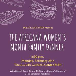 Africana Women's Dinner