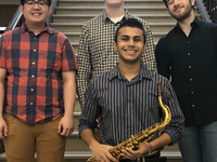 "Eastman Performing Arts Medicine presents ""Live at the Cafe!"" with the Shah quartet"