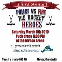 Police vs. Fire Hockey Game