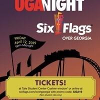UGA Night at Six Flags