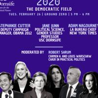 Usc 2020 Calendar 2020: The Democratic Field   USC Event Calendar