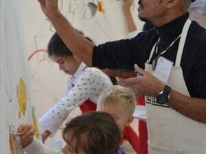 Hudgens Center for Art & Learning Family Day