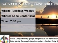Salvation and Praise Bible Study Group Meeting
