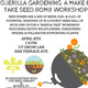 SOLD OUT: Seed Bomb Workshop