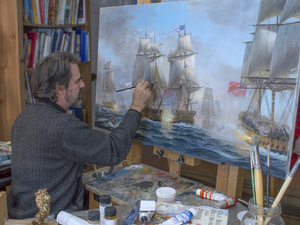 The Art of Sail: The Paintings of Artist Patrick O'Brien